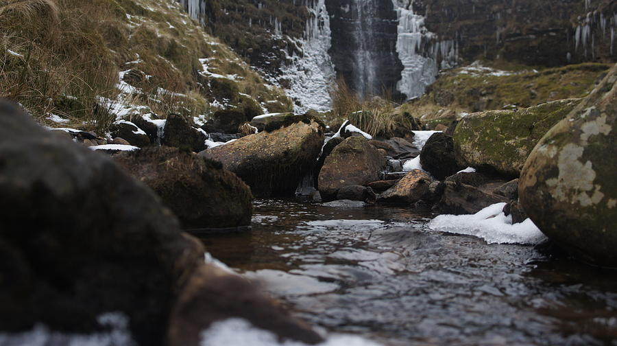 Water Photograph - Waterfall by Riley Handforth