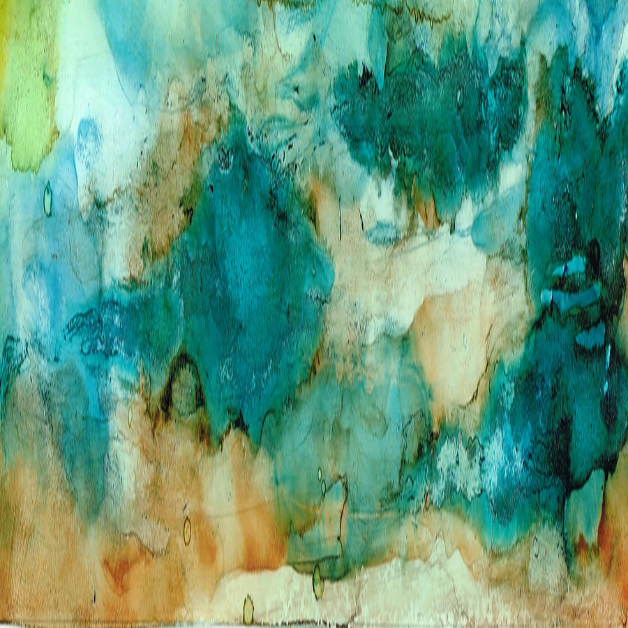 Abstract Painting - Waterfall by Rosie Brown