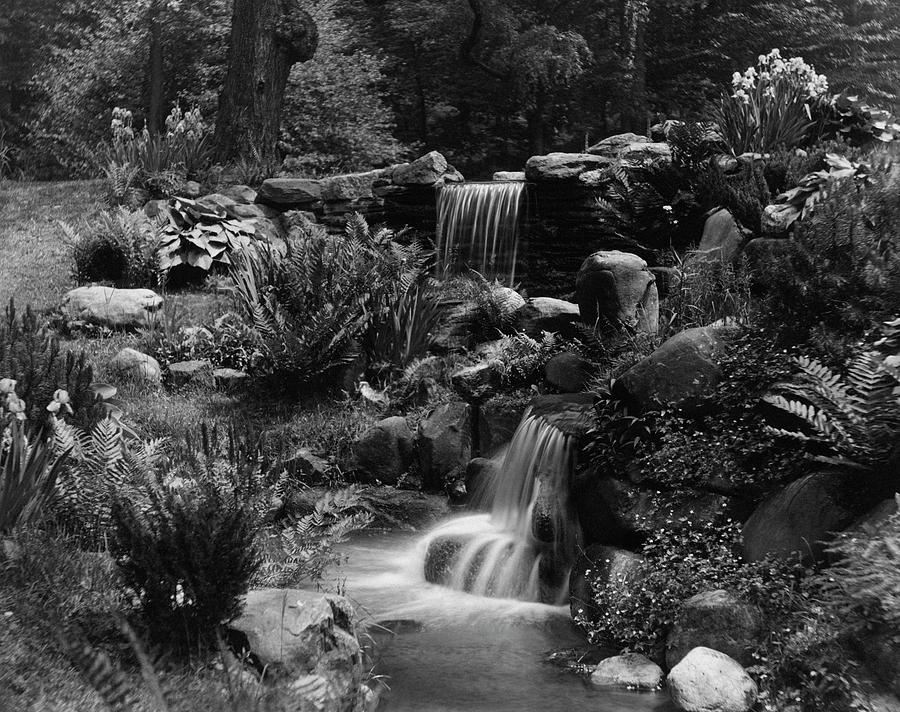 Waterfalls On The Mr J B Van Sciver Estate Photograph by Richard Rothe