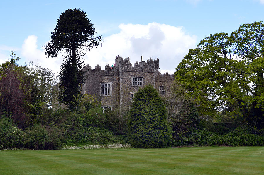 Ireland Photograph - Waterford Castle Ireland. by Terence Davis