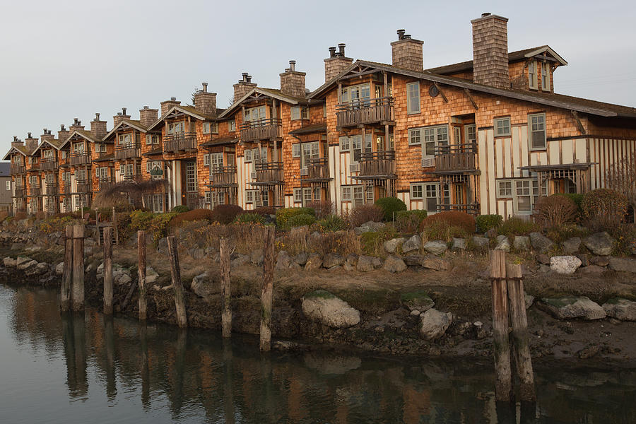 Building Photograph - Waterfront Apartments by Gordon  Grimwade