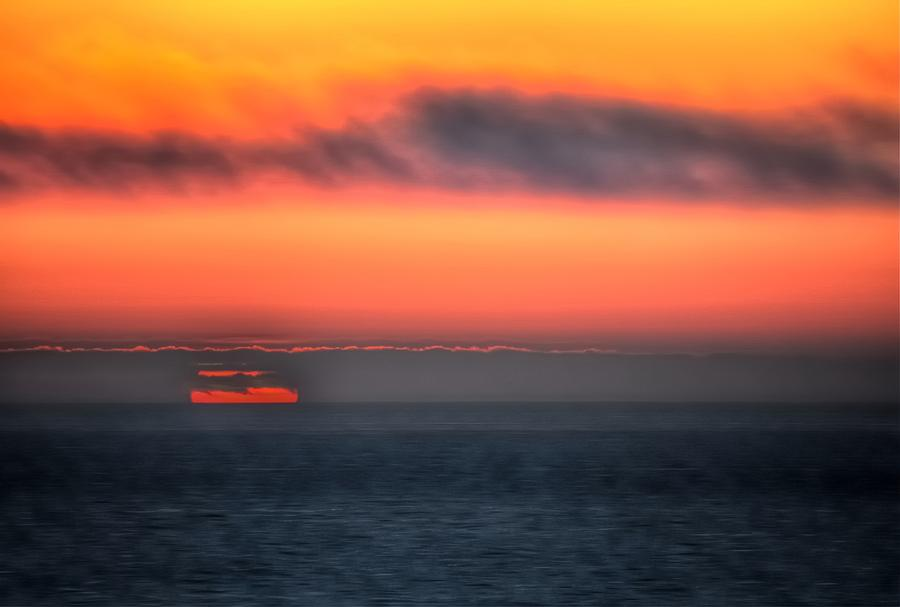 Waterline Sunset 17573 Photograph