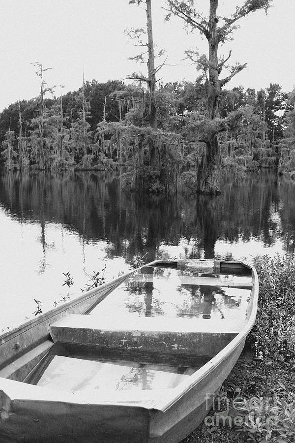Boat Photograph - Waterlogged by Scott Pellegrin