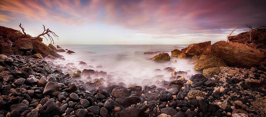 Panorama Photograph - Waters Edge by Mark Yugawa