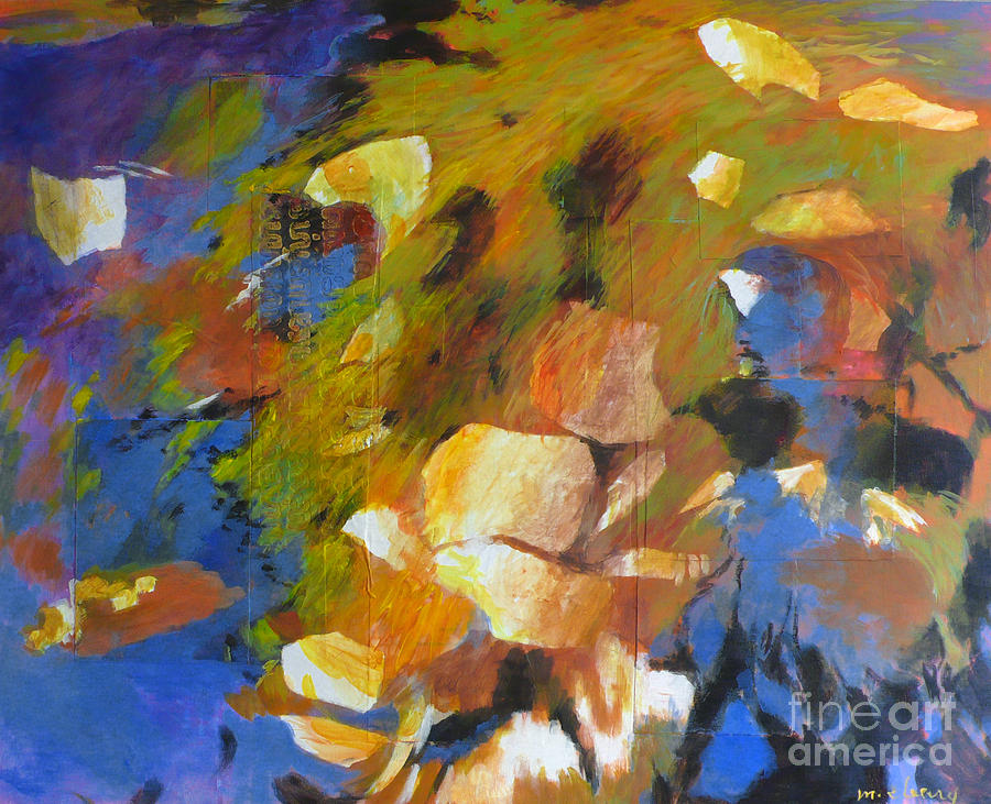 Nature Painting - Waters Edge by Melody Cleary