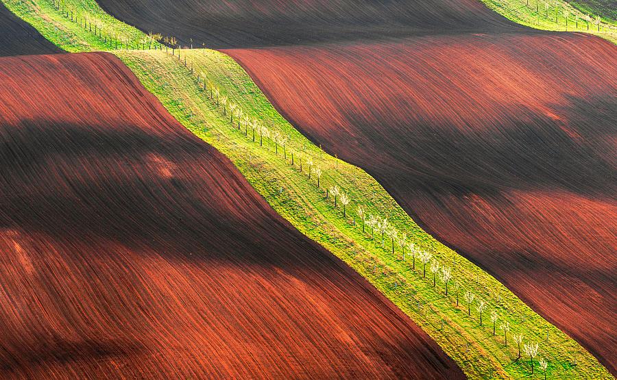 Moravia Photograph - Waterslide by Jan ?m?d, Qep