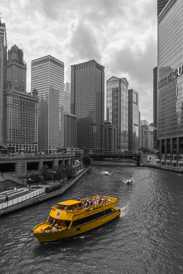 Watertaxi Photograph - Watertaxi by Clay Townsend