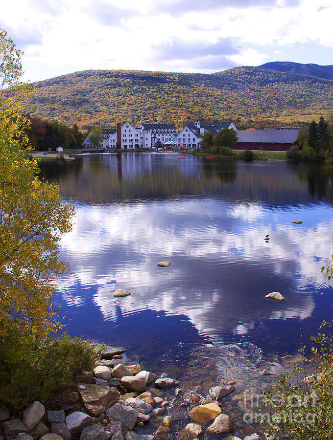 Fall In New Hampshire Photograph - Waterville Valley 1 by Michael Mooney
