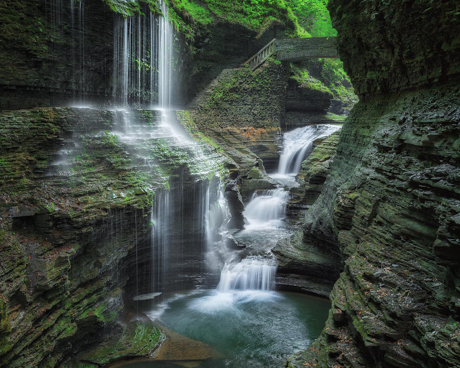 Watkins Glen Photograph - Watkins Glen by Bill Wakeley