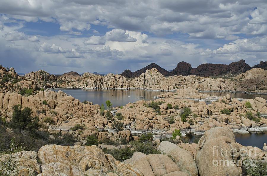 Watson Lake Photograph - Watson Lake Arizona by Maria Janicki