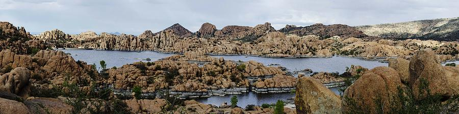 Granite Dells Photograph - Watson Lake by Richard Henne
