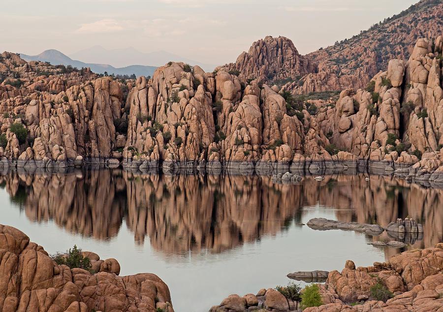 Prescott Photograph - Watson Lake Tranquility by Angie Schutt