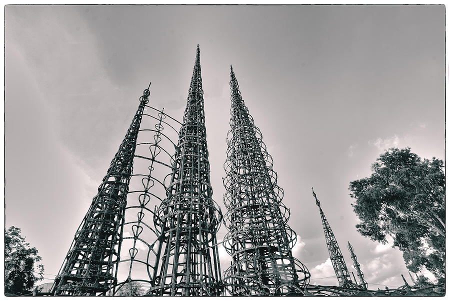 Los Angeles Photograph - Watts Towers by Joseph Hollingsworth