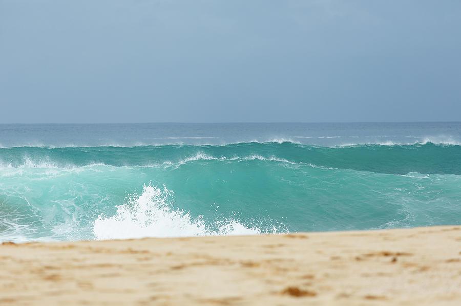 Wave Action Photograph by Laszlo Podor