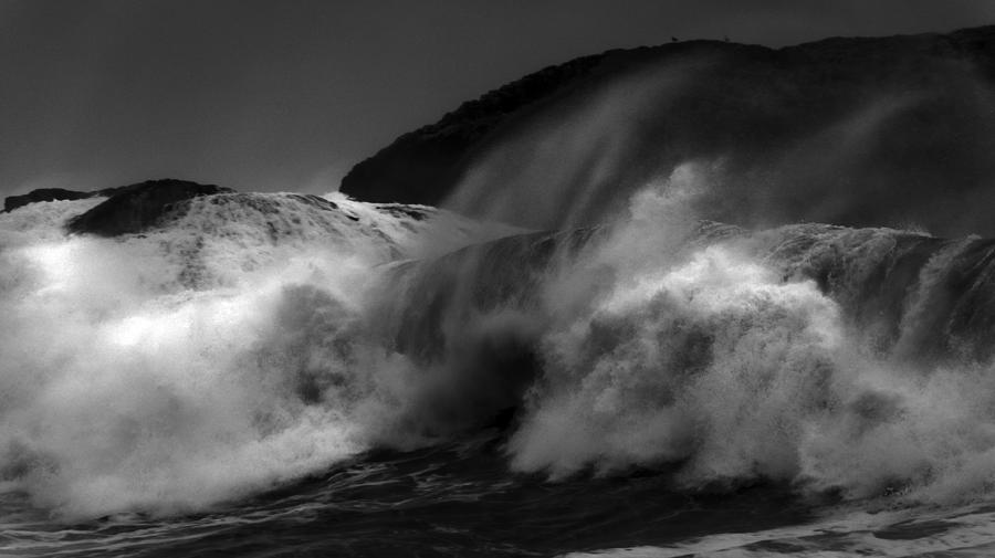 Wave Photograph - Wave by Alasdair Turner