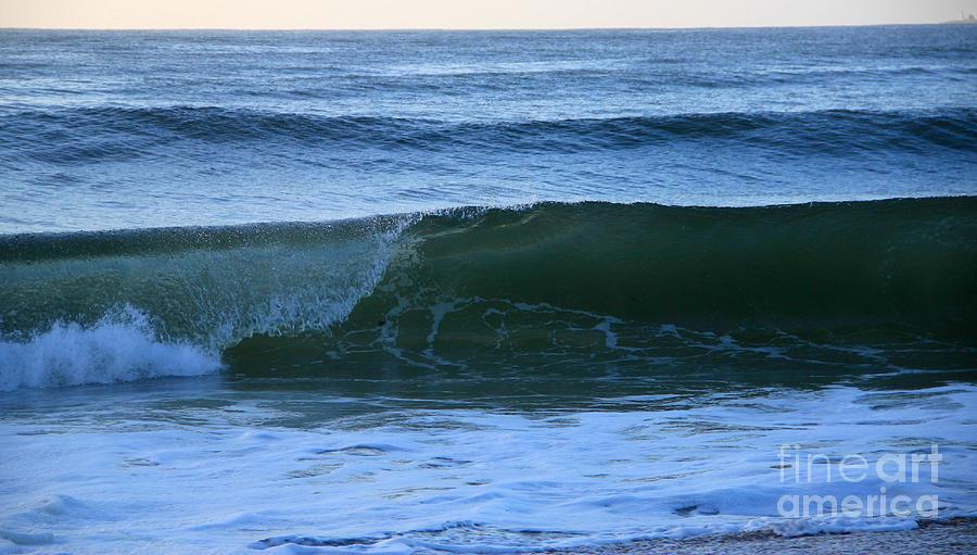 Wave Art 7 Photograph by Michael Mooney