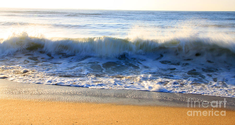 Cold Water Photograph - Wave Art Series 3 by Michael Mooney