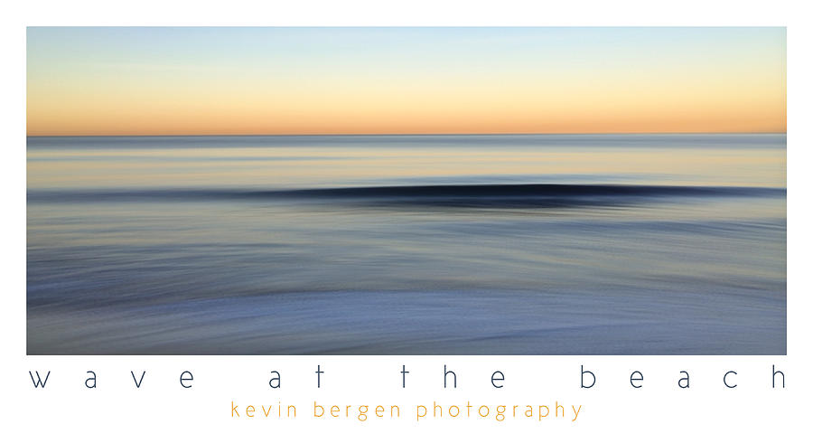 Wave at the Beach by Kevin Bergen