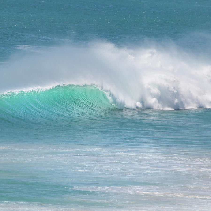 Wave Beauty Photograph by Ann Clarke Images
