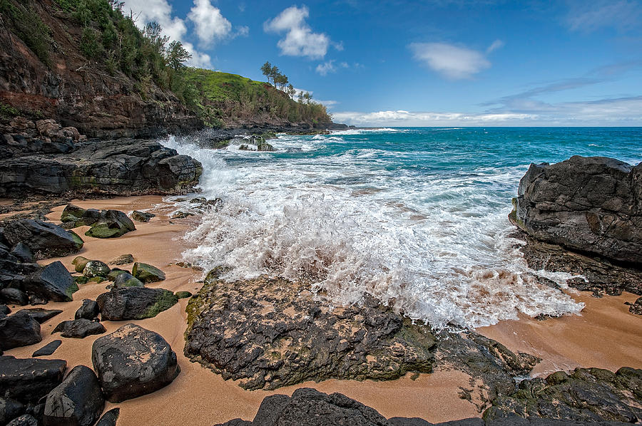 Beach Photograph - Wave by Jen Morrison