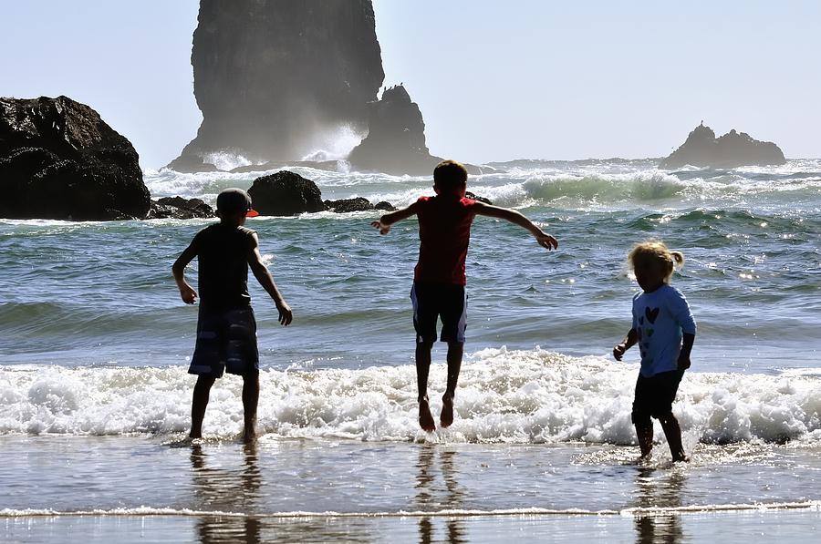 Wave Jumping 25614 Photograph