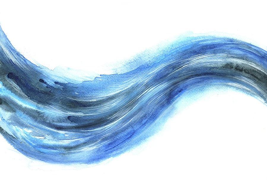 Curve Digital Art - Wave Of Energy by Stereohype