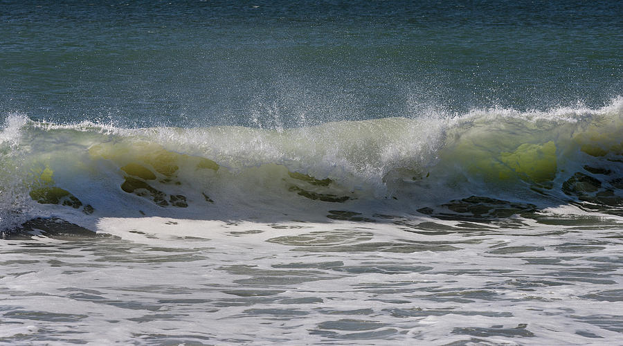 Wave Sequence 3 Of 4 Photograph