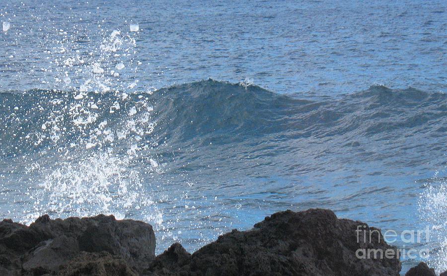 Wave - Vague - Ile De La Reunion - Island Reunion Photograph by Francoise Leandre