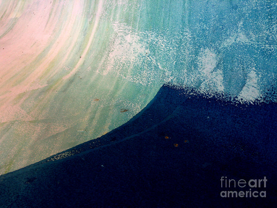 Wave Photograph - Wavelength by Robert Riordan