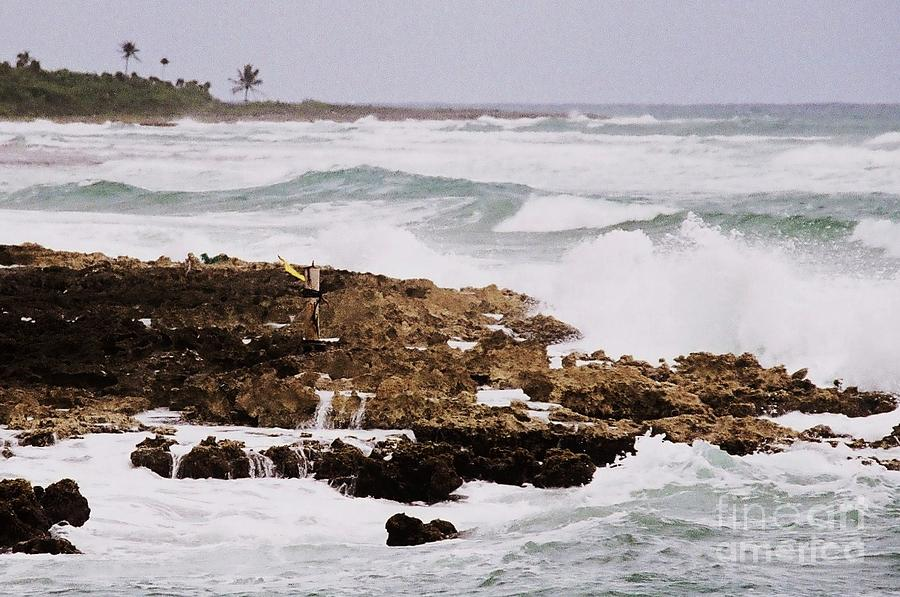 Waves Pounding Costa Maya, Mexico Photograph by Marcus Dagan