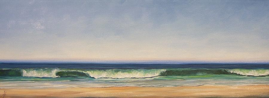 Waves Painting - Waves by Dianna Poindexter