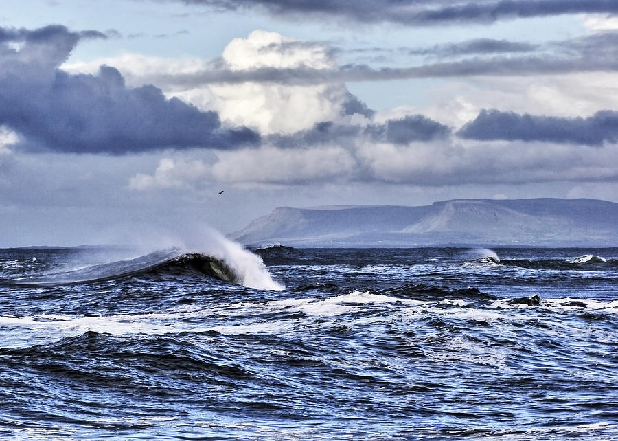 Waves Photograph - Waves In Easkey by Tony Reddington