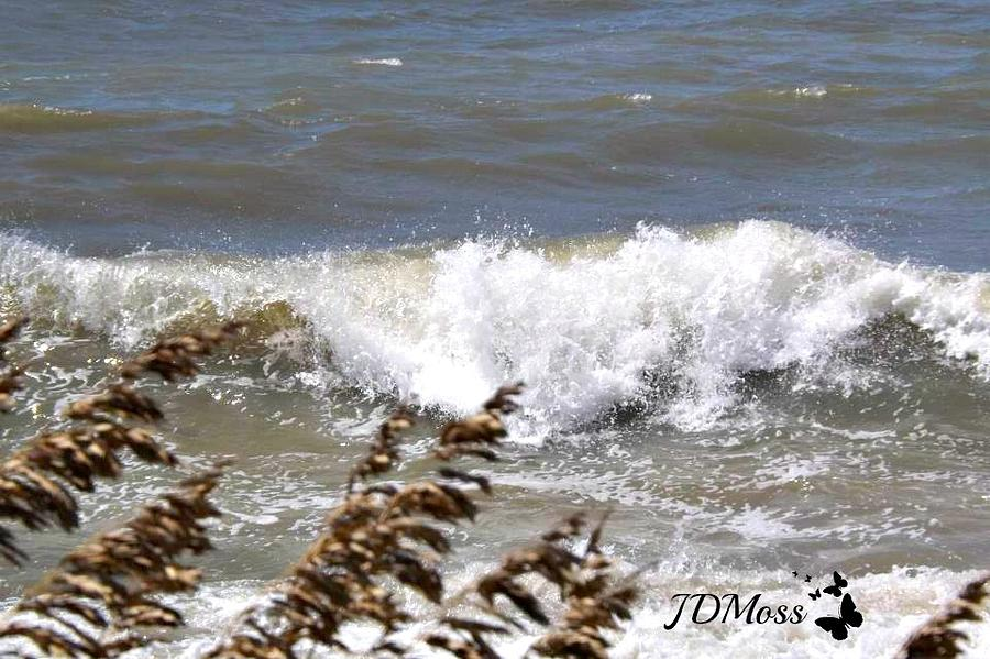 Ocean Photograph - Waves by Janet Moss