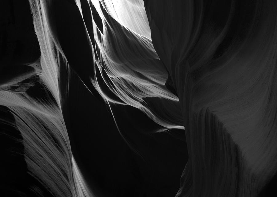 Rock Photograph - Waves by Jessica Wakefield