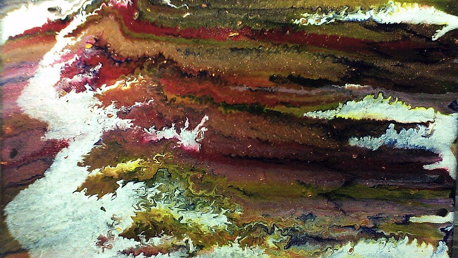 Abstract Painting Painting - Waves by Lisa Williams