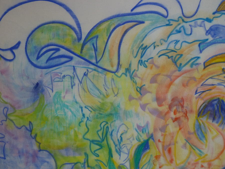 Pastel Painting - Waves of Change by Phoenix Simpson