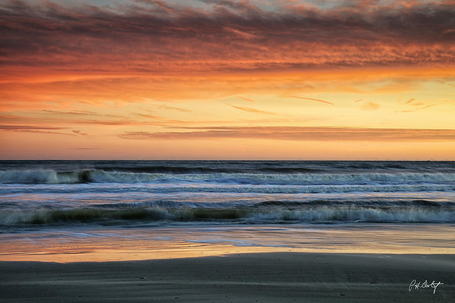 Beach Photograph - Waves by Phill Doherty