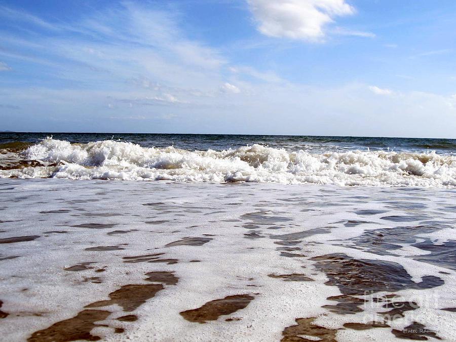 Waves Photograph - Waves by Ramona Matei