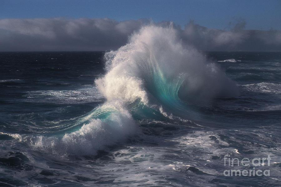 Seascape Photograph - Waves by Ron Sanford