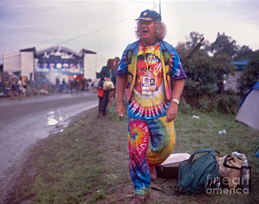 Wavy Photograph - Wavy Gravy At Woodstock by Chuck Spang