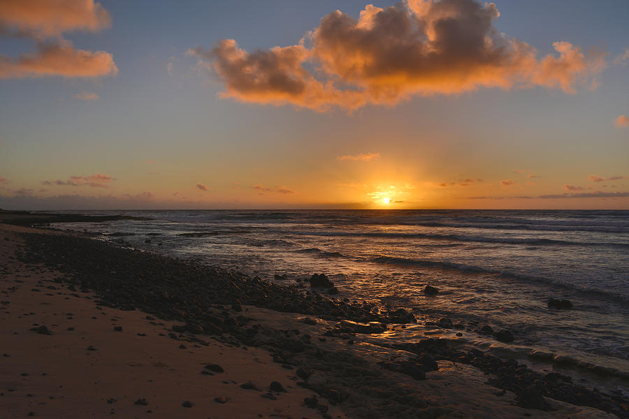 Wawamalu Beach Sunrise - Oahu Hawaii Photograph by Brian Harig