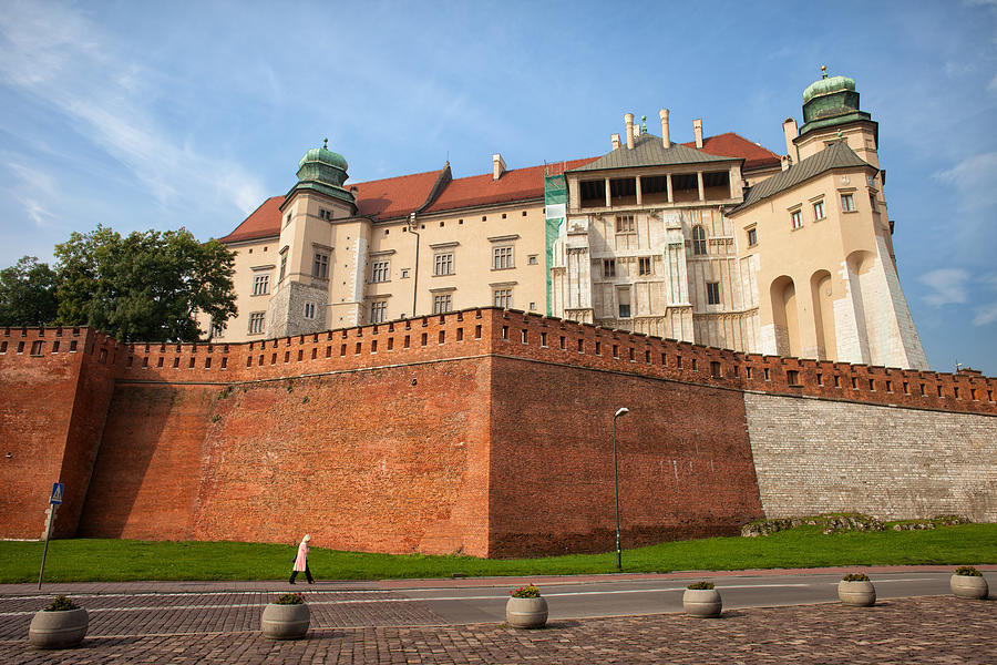 Wawel Photograph - Wawel Royal Castle In Krakow by Artur Bogacki