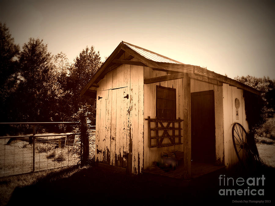Daguerrotype Art Photography Photograph - Way Back In The Day by Deborah Fay