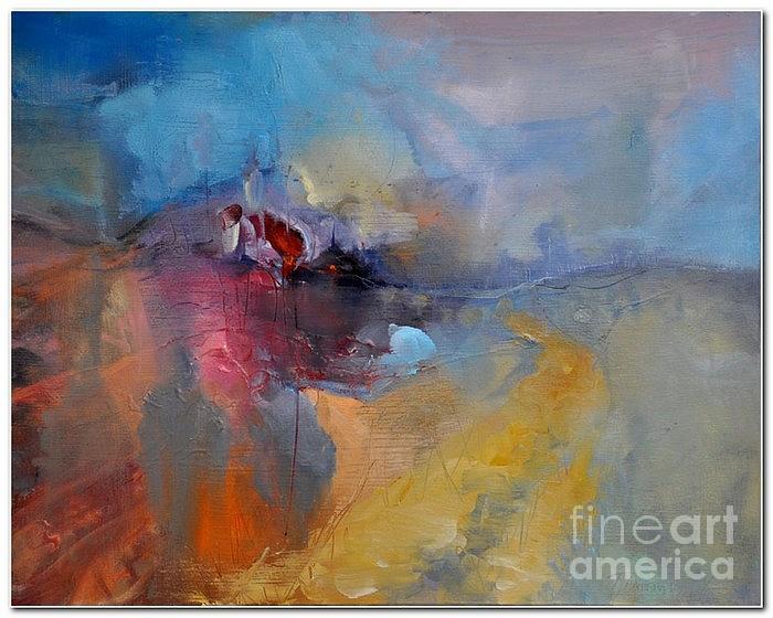 Landscape Painting - Way Home by David Figielek