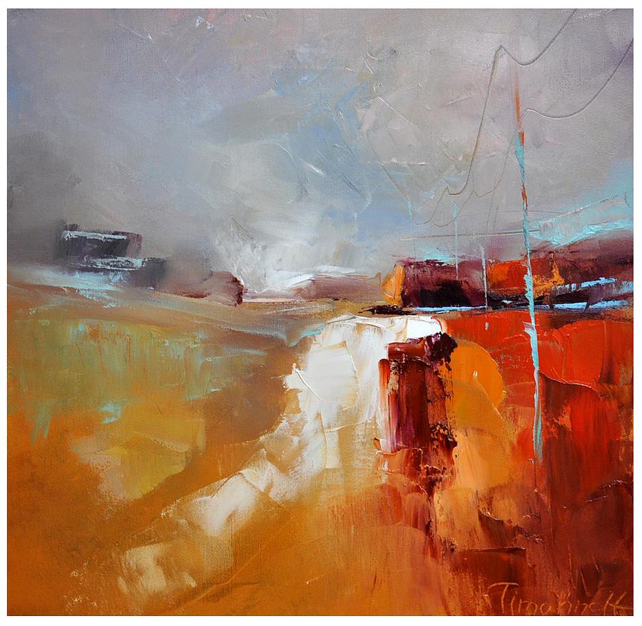 Landscape Painting - Way Home II by David Figielek