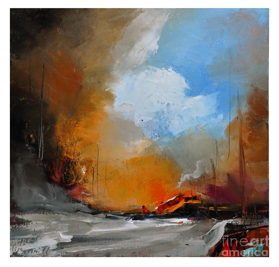 Road Painting - Way Home IIi by David Figielek