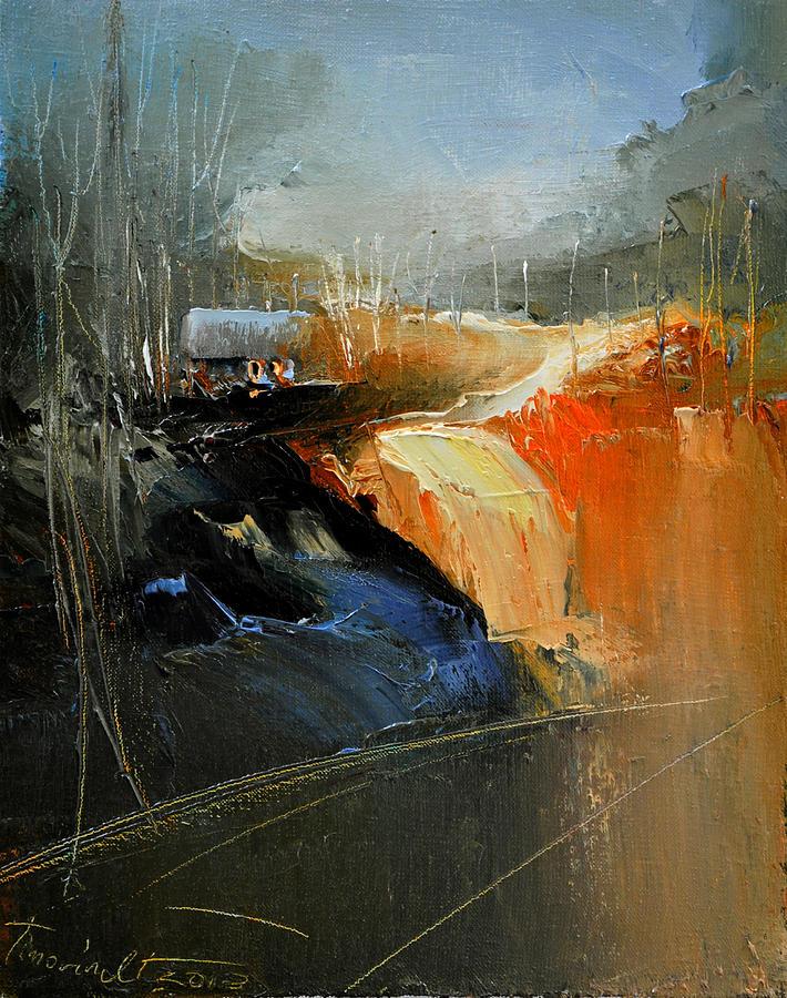 Landscape Painting - Way Home Serie by David Figielek