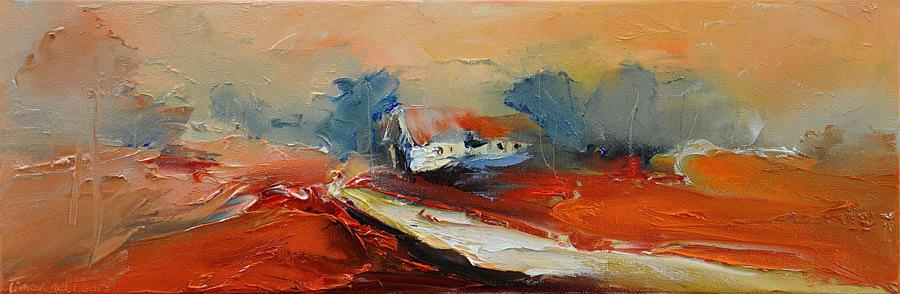 Landscape Painting - Way Home Xi by David Figielek