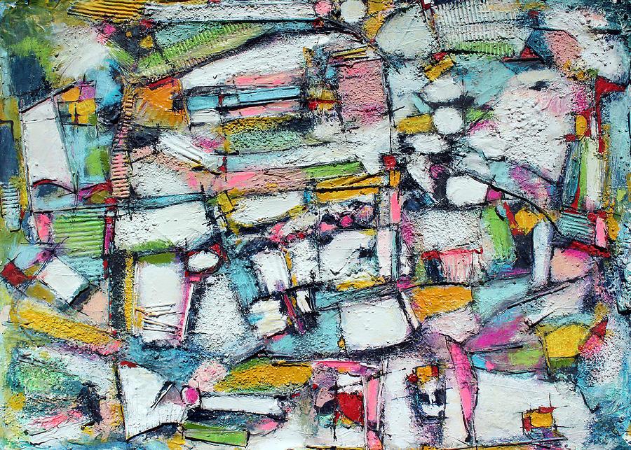 Abstract Painting Painting - Way Of Harmony by Hari Thomas