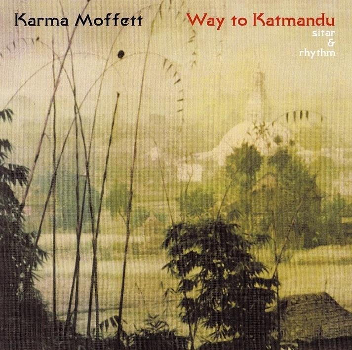 Meditation Digital Art - Way To Katmandu by Karma Moffett
